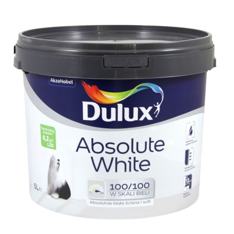 Emulsja DULUX Absolute White