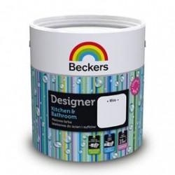 Beckers Designer White Kitchen